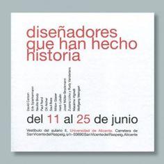 Este es uno de los diseños de la serie de carteles de José Manuel López Mas.