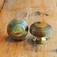 Beehive Large Cabinet Knob - Brass by Grace & Glory Home