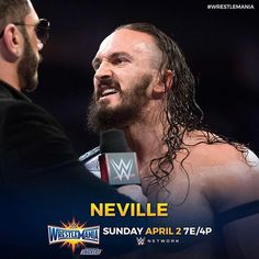 wwe The King of the Cruiserweights #Neville looks to continue his rule at The #UltimateThrillRide #WrestleMania! @wwenetwork  2017/04/02 23:28:45