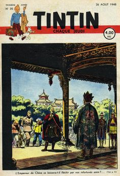 Le Journal de Tintin - Edition Belge - N° 101 - 1948-35 - Jeudi 26 Août 1948 - Couverture : Paul Cuvelier