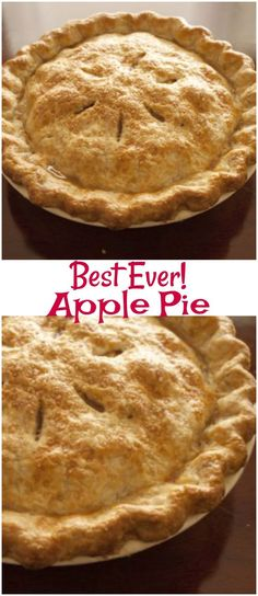 The Best Apple Pie. The Best Apple Pie is so easy to make and one that you have to try! It is an easy apple pie recipe that everyone will love. (Projects To Try Recipes)