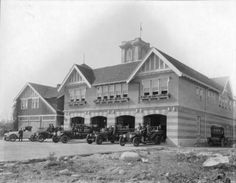Point Grey Fire Hall No. 18, 38th and Cartier c. 1924