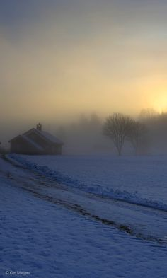 Nature always wears the colors of the spirit - Ralph Waldo Emerson . December with Nordic Light , Norway