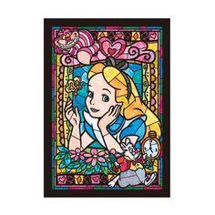 Alice au pays des merveilles - Puzzle vitrail Disney© - Cactus & Ananas