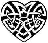 A simple celtic love knot tattoo design for male and female. Celtic Tattoo For Women, Celtic Knot Tattoo, Celtic Love Knot, Celtic Heart, Celtic Tattoos, Celtic Knots, Gaelic Tattoo, Pagan Tattoo, Celtic Cross Stitch