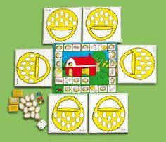 Le soustracteur Math Board Games, Farm Activities, Easter Art, Teaching Math, Games For Kids, Kindergarten, School, Creative, Cards
