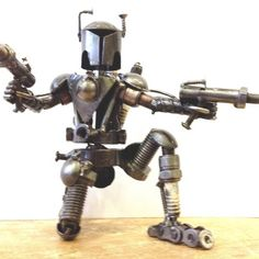Metal Art Collection, all Items in this collection are cleverly designed and built from scrap metals, nuts, bolts, and motorcycle parts.
