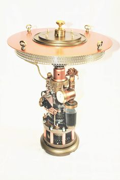 Steampunk лампа