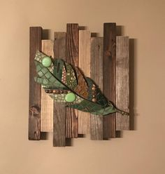 Excited to share the latest addition to my #etsy shop: Rustic Mosaic Feather #art #housewarming #feather #mosaic