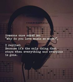 Music is life! quotes – songs / music – You are in the right place about lyrics quotes friendship Here we offer you the most beautiful pictures about the lyrics quotes popular you are looking for. When you examine the Music is life! Reality Quotes, Mood Quotes, True Quotes, Motivational Quotes, Escape Quotes, Quotes Quotes, Sassy Quotes, Lyric Quotes, Famous Quotes