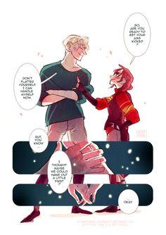 Amortentia, a Scorpius / Rose comic : page VI / VI