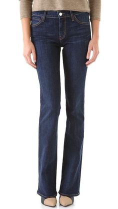 I have several pairs of skinny jeans so like that this is a more traditional jean. (shopbop - KORAL Mid Rise Boot Cut Jeans)