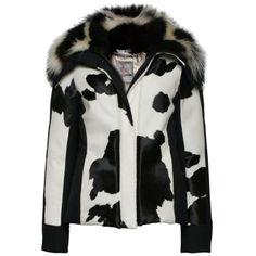 moncler black and white ski jacket