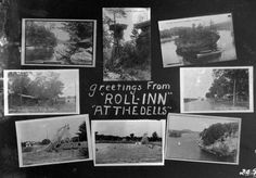 """Greetings from """"Roll-Inn"""" at the Dells 