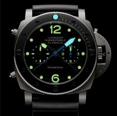 Officine Panerai Luminor Submersible 1950 Flyback PAM615 | Time and Watches