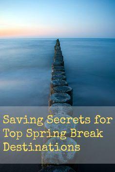 spring break savings tips