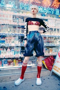 Oyster Fashion: 'Chinatown' Shot By Christine Hahn | Fashion Magazine | News. Fashion. Beauty. Music. | oystermag.com