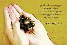 Tanka poem: you sleep far away-- by Michael McClintock.