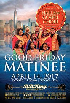 Harlem Gospel Choir - Good Friday Matinee Show