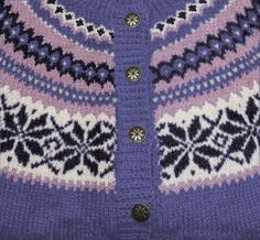 Fargevelger for strikking av Nancy Nordic Sweater, Cool Sweaters, Patterns, Knitting, Nice, Jackets, Inspiration, Fashion, Block Prints