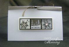 Winter inchie card