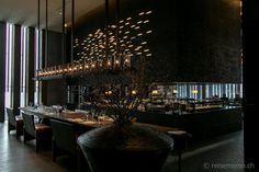 Restaurant mit Showküche-The Chedi Andermatt