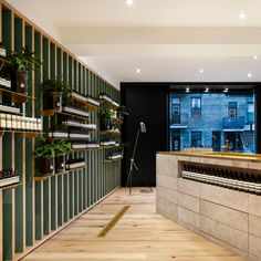 """Naturehumaine designs """"deconstructed"""" interior for Aesop store in Montreal"""