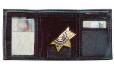 DeSantis Ambidextrous  Black  Leather BadgeID Wallet >>> For more information, visit image link.