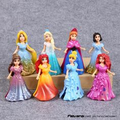 Princess Toys Elsa Anna Ariel Snow White Aurora Belle Cinderella PVC Figure Toys 8pcs/set DSFG302 #>=#>=#>=#>=#> Click on the pin to check out discount price, color, size, shipping, etc. Save and like it!