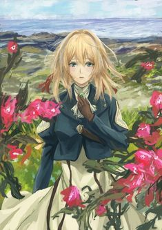 Violet Evergreen, Violet Evergarden Anime, Kawaii Anime, Character Art, Sailor, Anime Art, Animation, Manga, Wallpaper