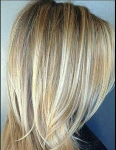 Hair and Beauty 29 Trendy Hair Straight Blonde Highlights Low Lights Hair Replacement- Causes Blonde Highlights With Lowlights, Straight Hair Highlights, Low Lights Hair, Light Hair, Blonde With Low Lights, High And Low Lights, Dark Hair, Brown Hair, Straight Hairstyles