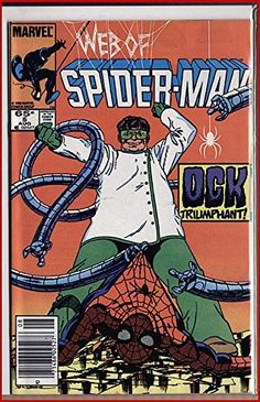 WEB OF SPIDERMAN 5 DOCTOR OCTOPUS!!! Byrne @ niftywarehouse.com