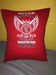 A personal favorite from my Etsy shop https://www.etsy.com/listing/386515532/oxford-ohio-university-tshirt-pillow