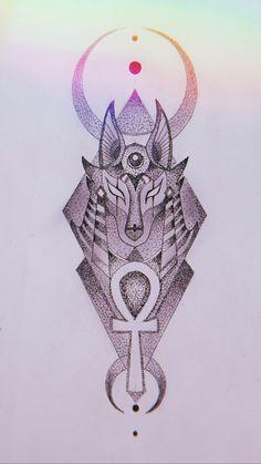 Egyptian Eye Tattoos, Egyptian Tattoo Sleeve, Egyptian Drawings, Egypt Tattoo, Half Sleeve Tattoos Sketches, Half Sleeve Tattoos Designs, Viking Rune Tattoo, Norse Tattoo, Henna Tattoo Hand