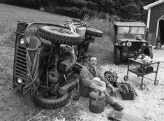 ww2 jeep on side repair | Hanson Mechanical