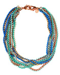Ocean Wrapped Chain Necklace by JewelMint.com