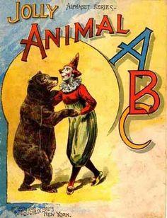 Jolly Animal ABC - vintage children's book
