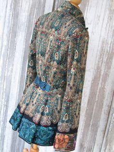 Indalia Fashion - Asian and Italian fabrics combined with Italian tailoring  http://indaliafashion.com/?show=gallery#6