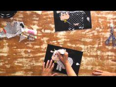Coisas que Gosto: Adesivagem com tecido - Passo a Passo - Eliane Tan...