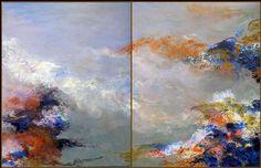 "Saatchi Online Artist Robert Gheyssens; Painting, ""IMAGINE XII"" #art"