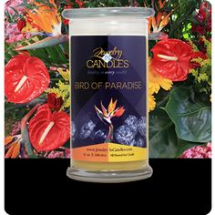New Scent coming May 1st! Named after a tropical bird with stunning colors and also known as a crane flower in South Africa; the Bird of Paradise has a sweet floral aroma with scents of fresh fruits and vanilla.