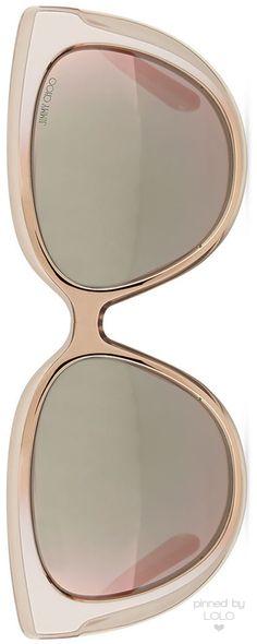 Jimmy Choo Cindy Cat-Eye Sunglasses   LOLO❤