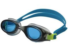 Speedo - Jr. Hydrospex Classic (Grey/Blue) Water Goggles