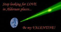 A Star Wars Valentine's Day - www.thesefour.com