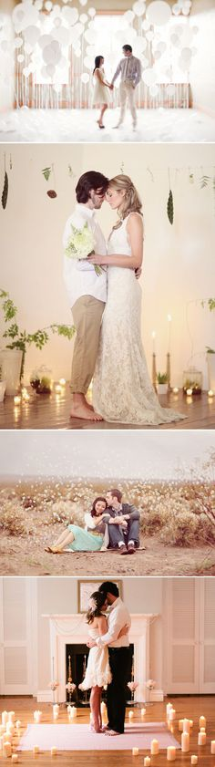 engagement pictures: romantic
