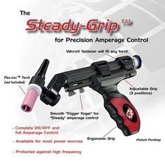 Seriously  good tig gun Welding Equipment, Welding Tools, Trigger Finger, Guns, Blue, Weapons Guns, Carpal Tunnel Syndrome, Revolvers, Weapons
