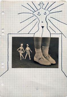 Sigmar Polke, Untitled (Shoes),  on ArtStack #sigmar-polke #art