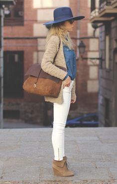 white pants.
