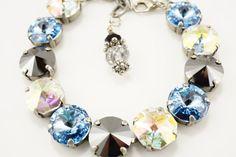 Hey, I found this really awesome Etsy listing at https://www.etsy.com/listing/201057278/rare-genuine-swarovski-crystal-bracelet