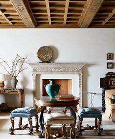 Montecito Estate California via Architectural Digest #livingroom #decor #interiordesign